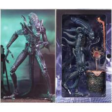 Фигурка Aliens - Action Figure Ultimate - Warrior (Blue) (1986) (20 см)