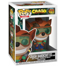 Фигурка Crash Bandicoot - POP! Games - Crash Bandicoot with Scuba Gear (9.5 см)