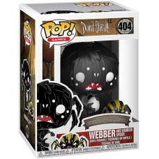 Фигурка Don't Starve - POP! Games - Webber & Warrior Spider (9.5 см)