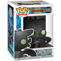 Фигурка How to Train Your Dragon: The Hidden World  - POP! Movies - Toothless (9.5 см)