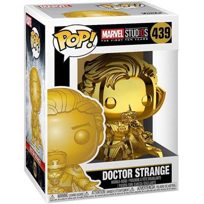 Головотряс Marvel Studios: The First Ten Years - POP! - Doctor Strange (Gold Chrome) (9.5 см)