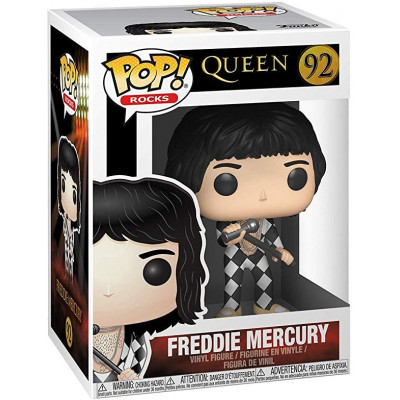 Фигурка Queen - POP! Rocks - Freddie Mercury (9.5 см)