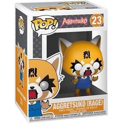 Фигурка Aggretsuko - POP! - Aggretsuko (Rage) (9.5 см)