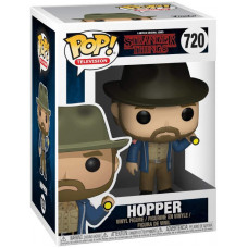 Фигурка Stranger Things - POP! TV - Hopper (with Flashlight) (9.5 см)