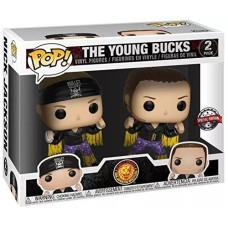 Набор фигурок WWE - POP! - The Young Bucks (Exc) (9.5 см)