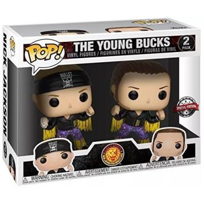 Набор фигурок Funko WWE - POP! - The Young Bucks (Exc) 30354 (9.5 см)