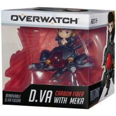 Фигурка Overwatch - Cute But Deadly - D.Va with Meka (Carbon Fiber) (8 см)