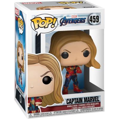 Фигурка Funko Головотряс Avengers: Endgame - POP! - Captain Marvel 36675 (9.5 см)