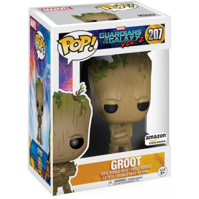 Фигурка Funko Головотряс Guardians of the Galaxy Vol.2 - POP! - Teenage Groot (Exc) 12772 (9.5 см)