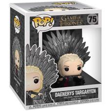 Фигурка Game of Thrones - POP! Deluxe - Daenerys Targaryan (on Iron Thron) (14 см)