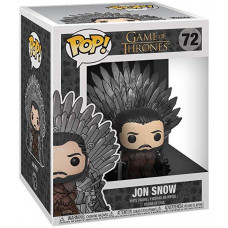 Фигурка Game of Thrones - POP! Deluxe - Jon Snow (on Iron Thron) (14 см)