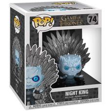 Фигурка Game of Thrones - POP! Deluxe - Night King (on Iron Thron) (14 см)