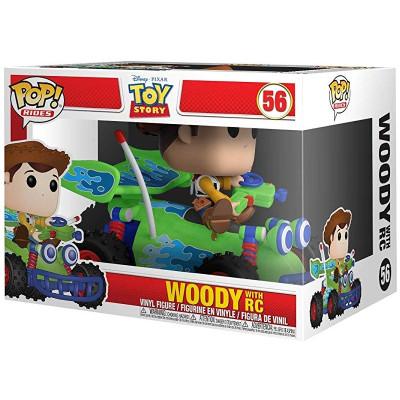 Фигурка Funko Toy Story - POP! Rides - Woody with RC 37016 (9.5 см)