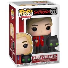Фигурка Chilling Adventures of Sabrina - POP! TV - Sabrina Spellman and Salem (9.5 см)