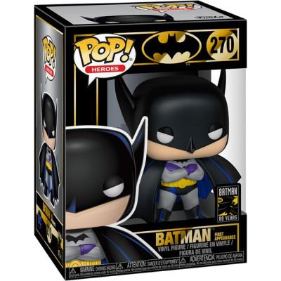 Фигурка Funko Batman 80 Years - POP! Heroes - Batman First Appearance 37214 (9.5 см)