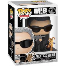 Фигурка Men In Black - POP! Movies - Agent K & Neeble (9.5 см)