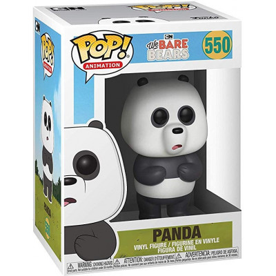 Фигурка We Bare Bears - POP! Animation - Panda (9.5 см)