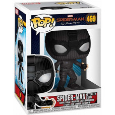 Головотряс Spider-Man: Far From Home - POP! - Spider-Man (Stealth Suit) (9.5 см)