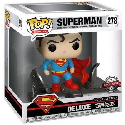Фигурка Funko Superman - POP! Heroes Delux - Superman (DC Collection of Jim Lee) (Exc) 34072 (9.5 см)