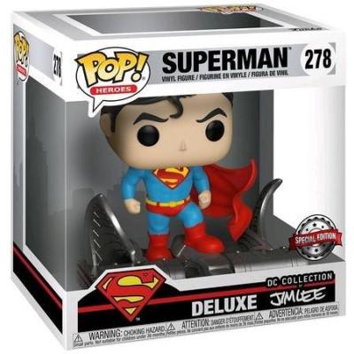 Фигурка Superman - POP! Heroes Delux - Superman (DC Collection of Jim Lee) (Exc) (9.5 см)