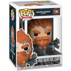 Фигурка Warhammer 40,000 - POP! Games - Space Wolves Pack Leader (9.5 см)