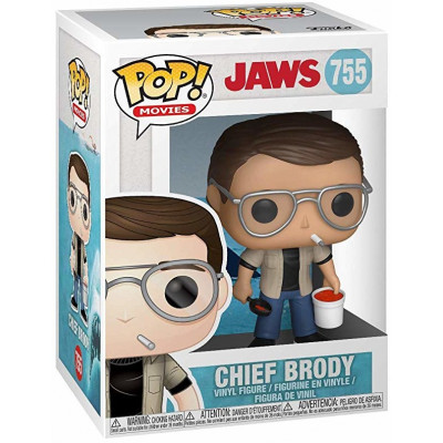 Фигурка Funko Jaws - POP! Movies - Chief Brody 38554 (9.5 см)