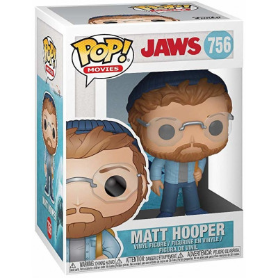 Фигурка Jaws - POP! Movies - Matt Hooper (9.5 см)
