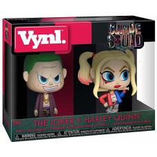 Набор фигурок Suicide Squad - Vynl - The Joker + Harley Quinn (9.5 см)