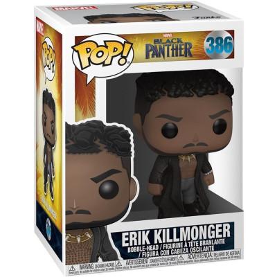Фигурка Funko Головотряс Black Panther - POP! - Erik Killmonger 33153 (9.5 см)