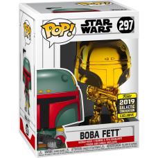 Головотряс Star Wars - POP! - Boba Fett (Gold Crome) (Exc) (9.5 см)