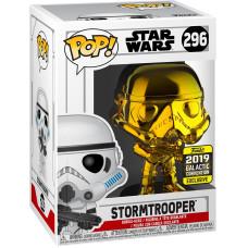 Головотряс Star Wars - POP! - Stormtrooper (Gold Crome) (Exc) (9.5 см)