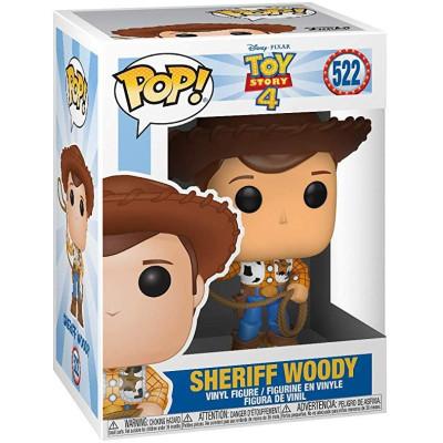 Фигурка Funko Toy Story 4 - POP! - Sheriff Woody 37383 (9.5 см)