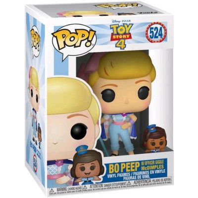 Фигурка Funko Toy Story 4 - POP! - Bo Peep with Officer Giggle McDimples 37391 (9.5 см)