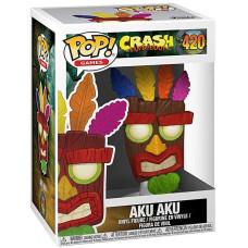 Фигурка Crash Bandicoot - POP! Games - Aku Aku (9.5 см)