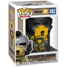 Фигурка Fallout 76 - POP! Games - Excavator Armor (9.5 см)