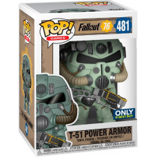 Фигурка Fallout 76 - POP! Games - T-51 Power Armor (Green) (Exc) (9.5 см)