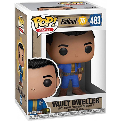 Фигурка Funko Fallout 76 - POP! Games - Vault Dweller 39039 (9.5 см)