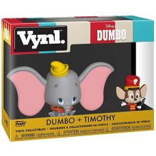 Набор фигурок Dumbo - Vynl - Dumbo + Timothy (9.5 см)