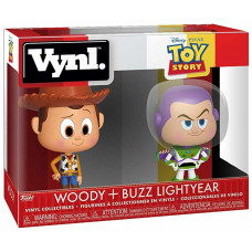 Набор фигурок Toy Story - Vynl - Woody + Buzz Lightyear (9.5 см)