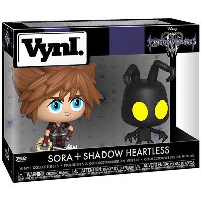 Набор фигурок Funko Kingdom Hearts 3 - Vynl - Sora + Shadow Heartless 37017 (9.5 см)