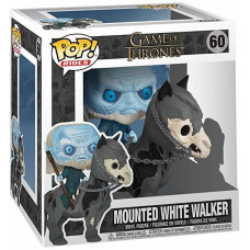 Фигурка Game of Thrones - POP! Rides - Mounted White Walker (9.5 см)