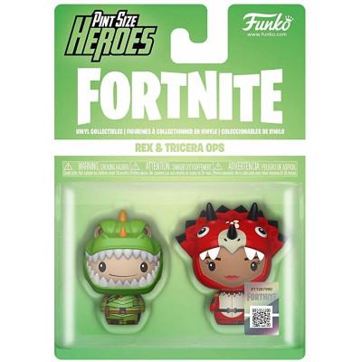 Набор фигурок Funko Fortnite - Pint Size Heroes - Rex & Tricera Ops 38029 (4 см)