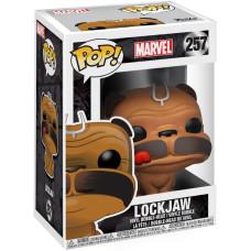 Головотряс Marvel - POP! - Lockjaw (9.5 см)