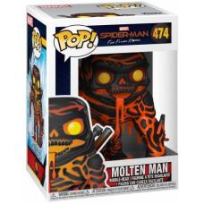 Головотряс Spider-Man: Far From Home - POP! - Molten Man (9.5 см)