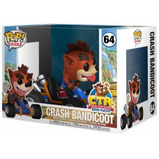 Фигурка Crash Team Racing Nitro-Fueled - POP Rides - Crash Bandicoot (9.5 см)
