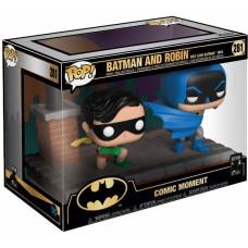 Набор фигурок Batman 80 Years - POP! Comic Moments - Batman and Robin: New Look Batman 1964 (9.5 см)