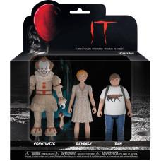 Набор фигурок IT - Action Figure - Pennywise / Ben / Beverly (9.5 см)