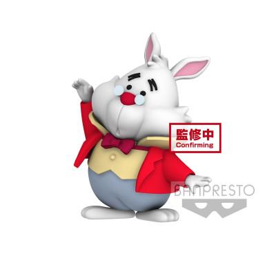 Фигурка Banpresto Alice in Wonderland - Cutte! Fluffy Puffy Disney Characters - White Rabbit BP19913P (4 см)