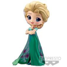 Фигурка Frozen - Q posket Disney Characters - Elsa Frozen Fever Design (ver.A) (14 см)