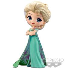 Фигурка Frozen - Q posket Disney Characters - Elsa Frozen Fever Design (ver.B) (14 см)